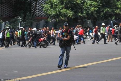 Jakarta suicide bombers launch multiple attacks and terrorists 'throw grenades'   Terrorists   Scoop.it