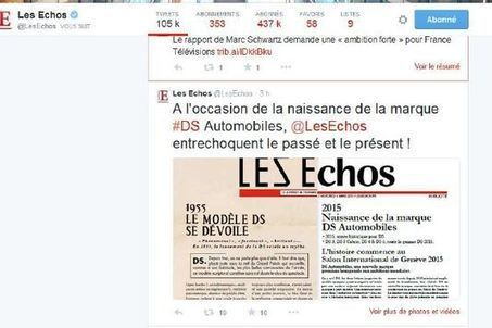 Grève des tweets aux « Echos » | mediasnews | Scoop.it