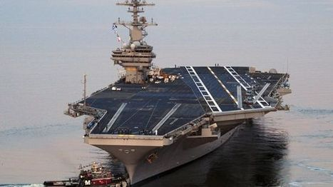 US aircraft carrier repositioned in case needed in Iraq | NGOs in Human Rights, Peace and Development | Scoop.it