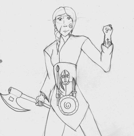 Les errances d'un Poulpe: Coming to life: un personnage pour Heroquest Glorantha (avec un dessin à moi)   Glorantha News   Scoop.it