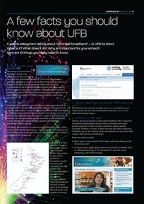 NZ Interface Magazine | A few facts you should know about UFB | Blended e-Learning | Scoop.it