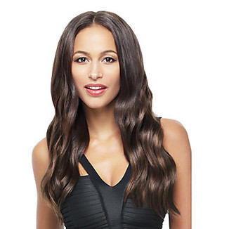 European Style 18inch Brazilian Virgin Hair Full Lace Wig Natural Black Can Be Dyed Natural Wave – WigSuperDeal.com | Party Wigs | Scoop.it