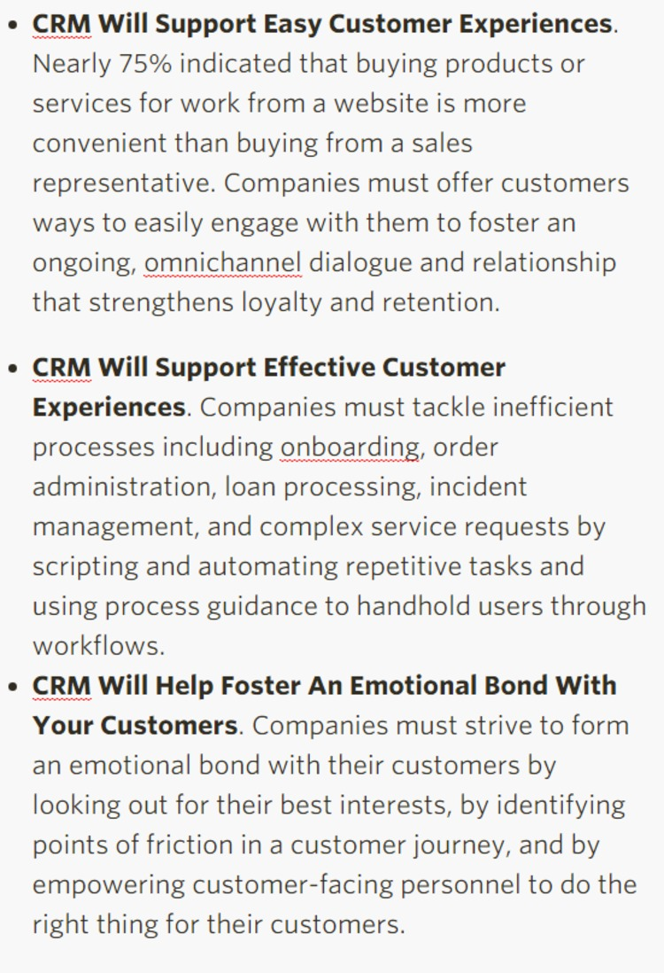 Forrester's Top CRM Trends For 2016 And Beyond - Forrester | The Marketing Technology Alert | Scoop.it