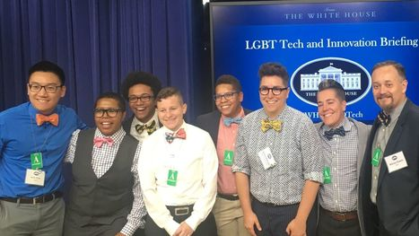 I joined a bunch of LGBT techies at the White House to help tackle some world-threatening problems | Gay News | Scoop.it