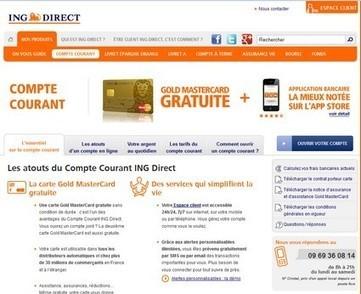 Le site ING Direct, la meilleure expérience client - Banque comparatif | Customer Experience, Satisfaction et Fidélité client | Scoop.it
