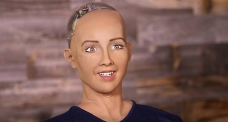 """Watch: Sexy Robot Lady """"Sophia"""" Wants To Destroy Humans 
