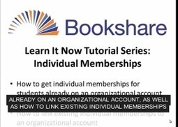 Bookshare Blog | Digital Accessible Books & Technologies = Learning Success | Scoop.it