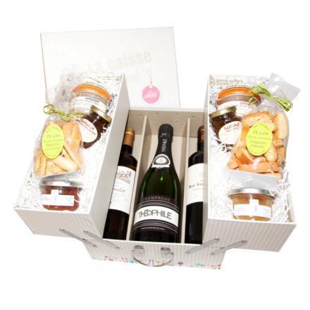 Coffret La Caisse Gourmande sur J'ai Failli Attendre | Idée Cadeau de qualité | Scoop.it