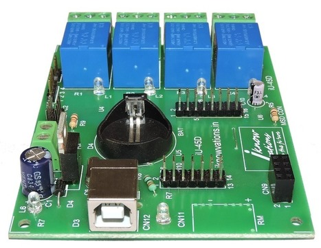 Turn USB port to multiple Digital & Analog I/Os - iknowvations.in | Serial LCD | Scoop.it