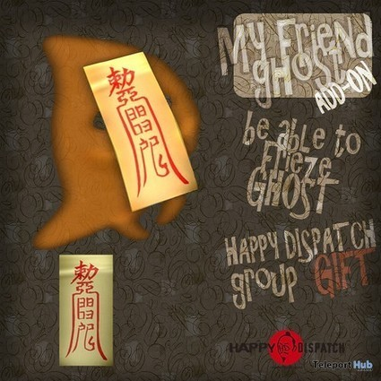 My Friend Ghost HUD Subscriber Gift by Happy Dispatch | Teleport Hub - Second Life Freebies | Second Life Freebies | Scoop.it