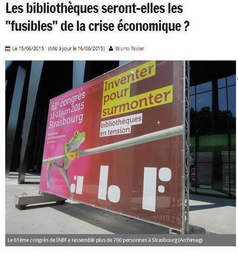 Article du jour (175) : les bibliothèques en tension   CGMA Généalogie   Scoop.it