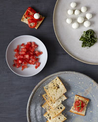 Bruschetta Recipe | À Catanada na Cozinha Magazine | Scoop.it