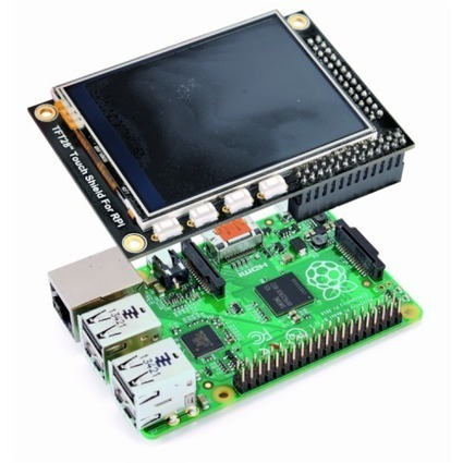 Touch Display for Raspberry Pi | FabLab - DIY - 3D printing- Maker | Scoop.it