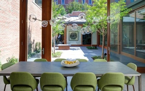 Picking An Illuminating Retro Dining Room Pendant Light | Designing Interiors | Scoop.it
