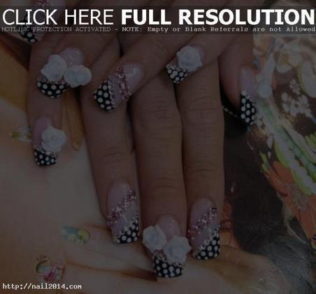 Cool Pictures Of Acrylic Nails | 2014 Latest Nail Art Designs | Nail Art Designs | Scoop.it