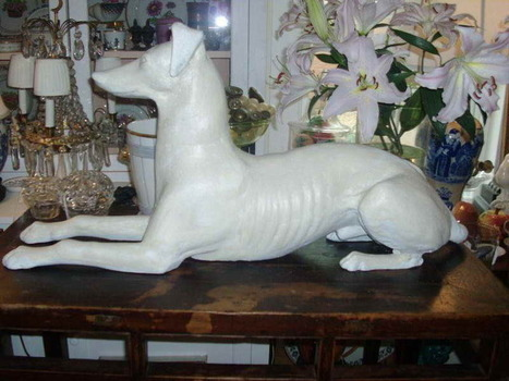 Courteous Amusement Displayed by Dog Statue in Your House | All Sculptures | Scoop.it