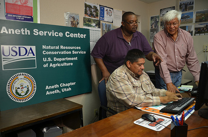 USDA Blog » Native Grass Project on Utah Mesa Serves as Model for Navajo Nation | Tannery | Scoop.it