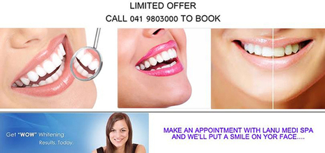 Get Limited Offer on Teeth Whitening Treatment at €59 Only | Laser & Medi Treatments | Scoop.it