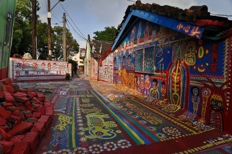 Taichung's Rainbow Village – The Hand-Painted Wonder of Taiwan | Strange days indeed... | Scoop.it