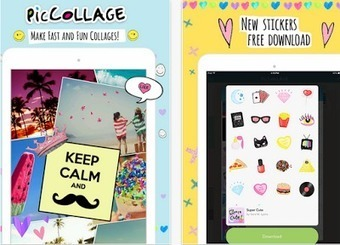 A Great Kids App for Creating Beautiful Picture Collages | DIGI-TOOLS - The Intersection of Tech Integration, Innovation, and Instruction | Scoop.it