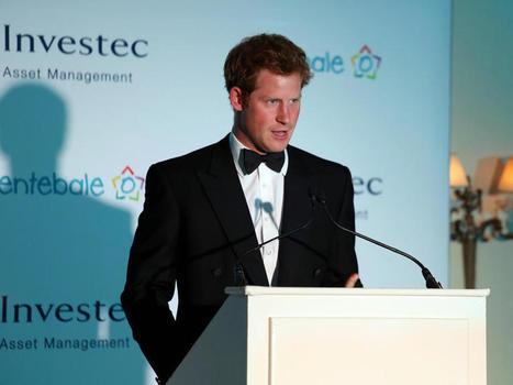 Le Prince Harry sur les pas de sa mère   Activités caritatives   Scoop.it