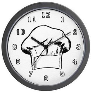 Chef Kitchen Wall Clocks   Essentially Mom Favorites   Scoop.it