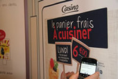 "Le groupe Casino, premier distributeur français à lancer son application mobile NFC - Groupe Casino | Supermarché ""Full NFC"" 