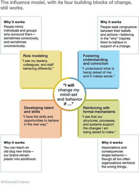 The four building blocks of change | McKinsey & Company | marketing leadership and planning | Scoop.it