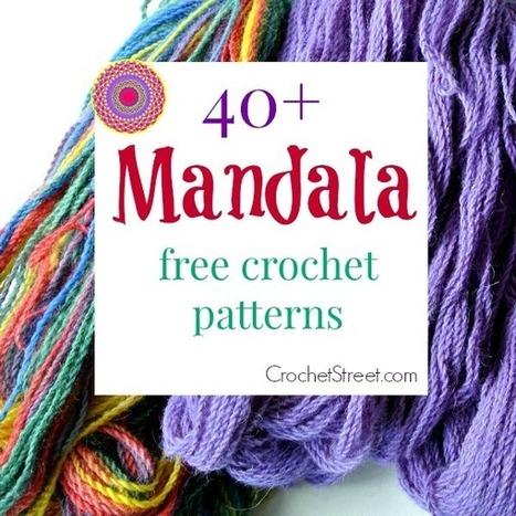 40+ Stunning Free Mandala Crochet Patterns | Crochet | Scoop.it