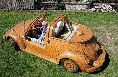 Guy Turns His Car Into A Wooden Volkswagen Beetle Masterpiece | My Dream Garage | Scoop.it