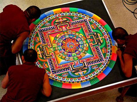 Tibetan Sand Mandala | Year 4 Maths: Tibetan patterns | Scoop.it