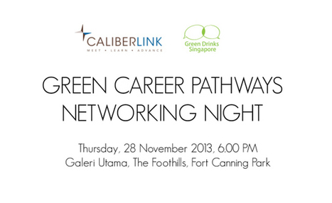 Green Drinks November Networking Night - 28th November 2013 | Trends in Singapore | Scoop.it
