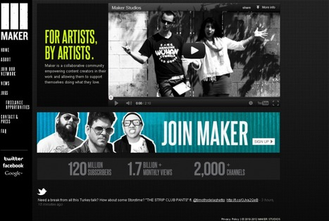 Maker Studios lands USD40m for video clip distribution :: StrategyEye - Industry Intelligence | TV Trends | Scoop.it