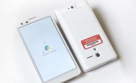Avec Project Tango, Google veut cartographier le monde en 3D - 20minutes.fr | Mobilier miniature | Scoop.it