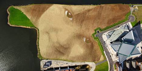 Eleven acre land art unveiled in Belfast | Visual Culture and Communication | Scoop.it