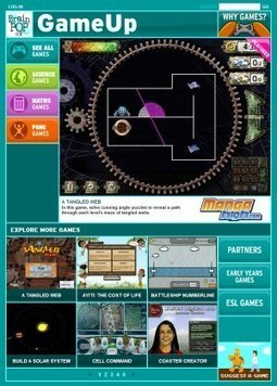 Get Gaming | POPtalk | Web 2.0 tools for eduation | Scoop.it