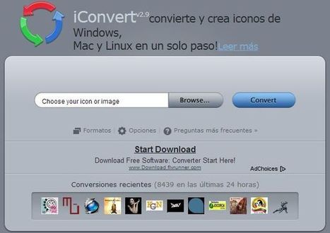 iConvert: herramienta web gratuita para convertir imágenes en iconos para Windows, Linux o Mac | Recull diari | Scoop.it