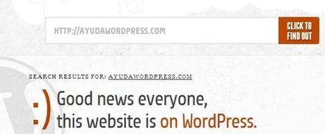 Cómo saber si un sitio está creado con #WordPress | Diseño y Recursos Web | Scoop.it