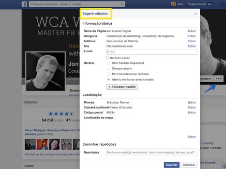 O Essencial do novo Layout das Páginas Facebook!   Facebook Page   Scoop.it
