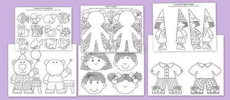 Fichas para mejorar la atención en los niños.Primera parte   recursos para primaria e infantil   Scoop.it