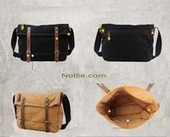 Fold canvas messenger bags by notlie | personalized canvas messenger bags and backpack | Scoop.it