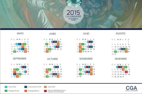 Calendario Financiero PRODEP 2015 | Gestión de la I+D+I | Scoop.it