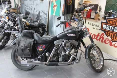 Harley-Davidson FXR 1340 Harley Motos Rhône - leboncoin.fr | Kustom Store Motorcycles | Scoop.it