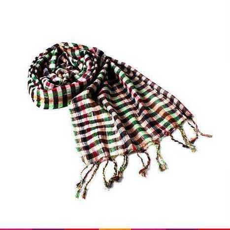 Pretty in Checks Multicolour Stole | Online Shopping | Scoop.it