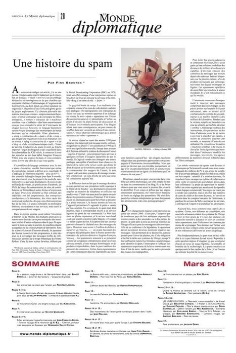 Une histoire du spam, par Finn Brunton (Le Monde diplomatique) | Arts, culture et futurs numériques | Scoop.it