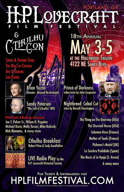 H.P. Lovecraft Film Festival and CthulhuCon | The only festival that understands. | Lovecraftian Gaming | Scoop.it