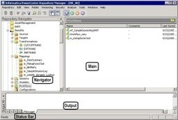 Informatica Repository Manager in PowerCenter Client | Software engineering | Scoop.it