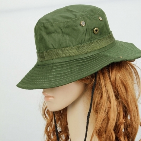 Fashionable Camping Hiking Hat Green | Product We Love | Scoop.it