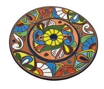 Raised Talavera Plate | Home Decor | Scoop.it
