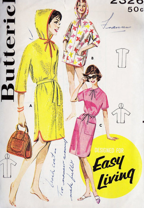 Vintage Sewing Pattern | What I like to do | Scoop.it